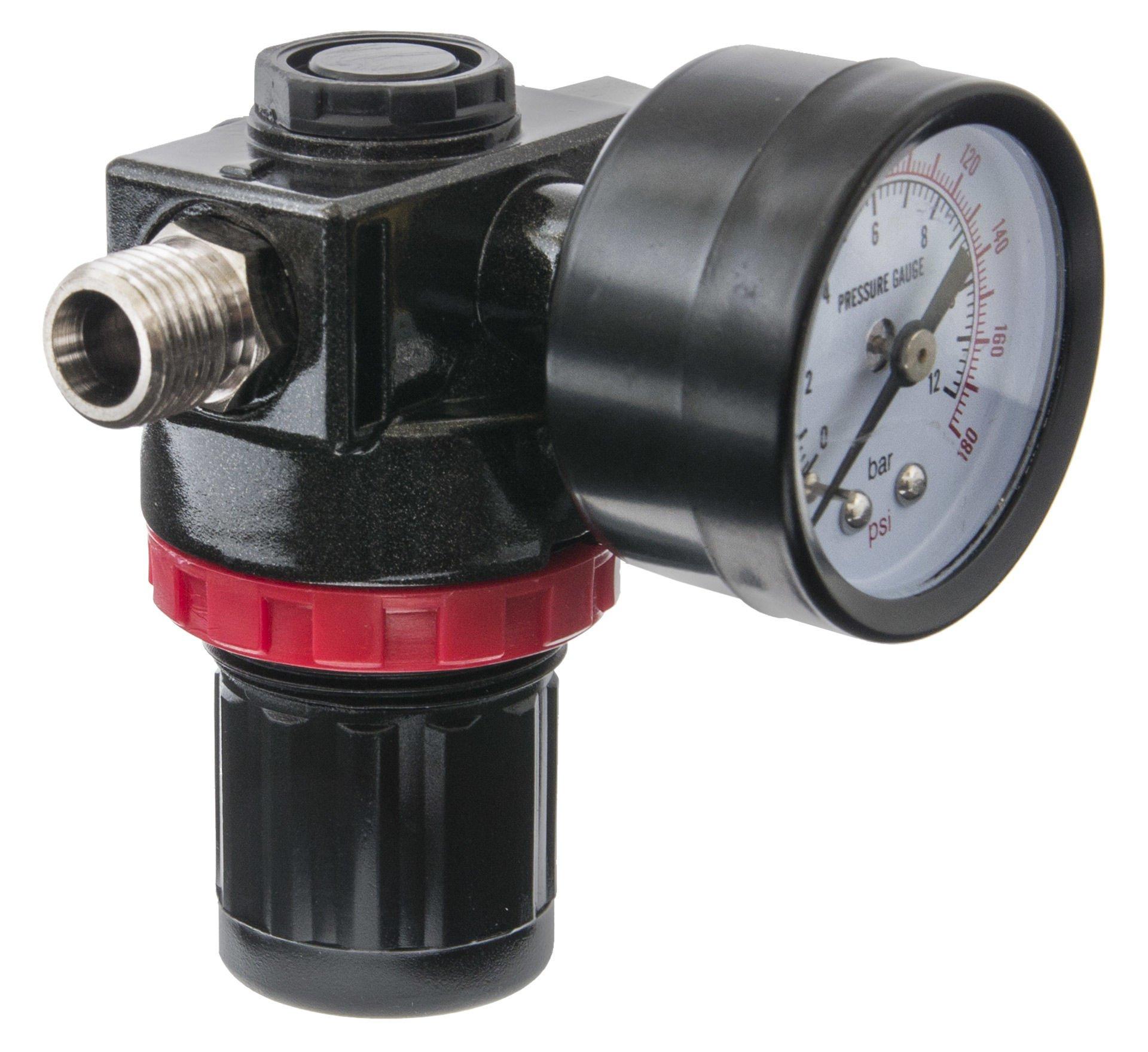 Регулятор давления воздуха для компрессора с манометром своими руками 53