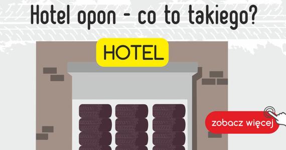 Hotel dla opon i oprogramowanie ewydencyjne