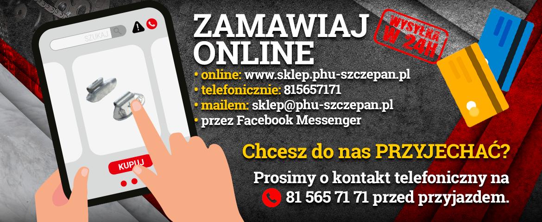 Kupuj online, sklep stacjonarny czynny