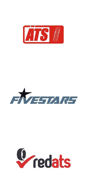 Logo Redats, ATS oraz FiveStars